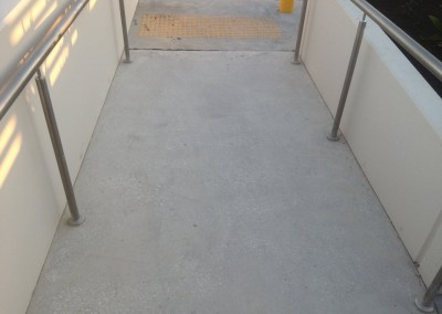 Access ramp honed to be complaint with slip rating standards (1) - Copy