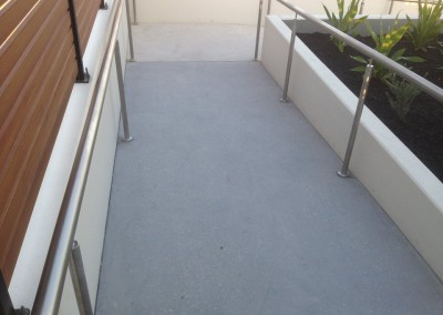Access ramp honed to be complaint with slip rating standards (2) - Copy