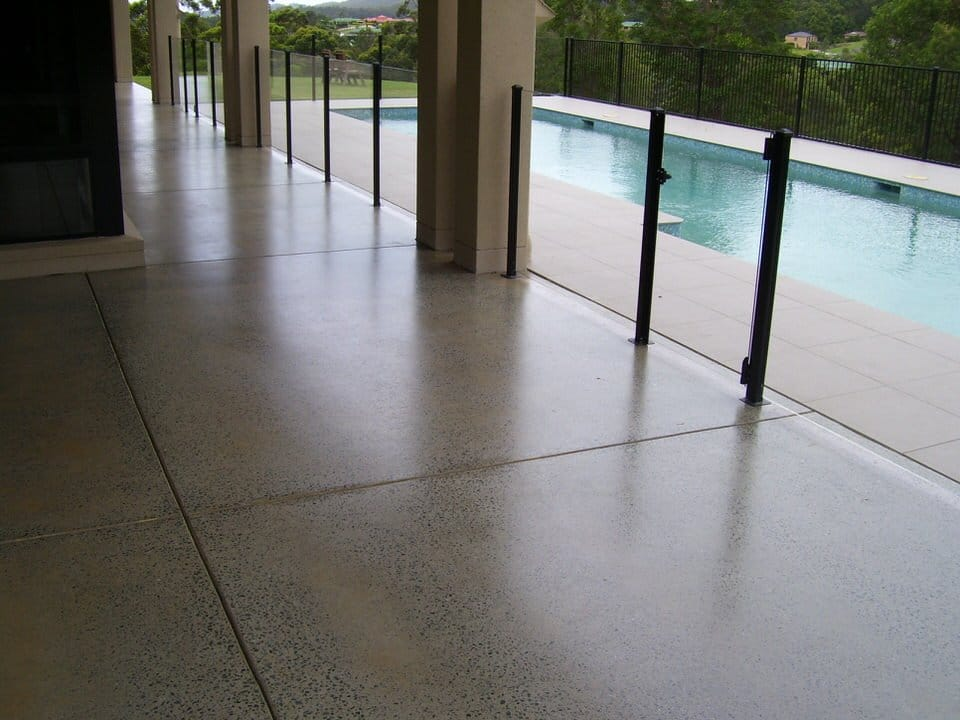 honed concrete process by ultimate floors is for external
