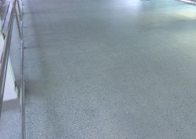 Honed Concrete Walkway - Brisbane International Airport. -Solvent Acylic Top Coat (5)