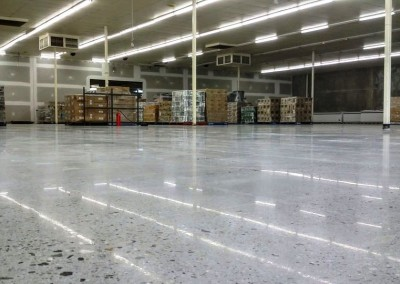Commercial polished concrete brings old floor back to life