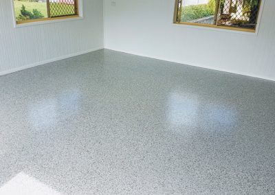 Flake Flooring to Garage