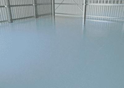 Light grey epoxy coating system