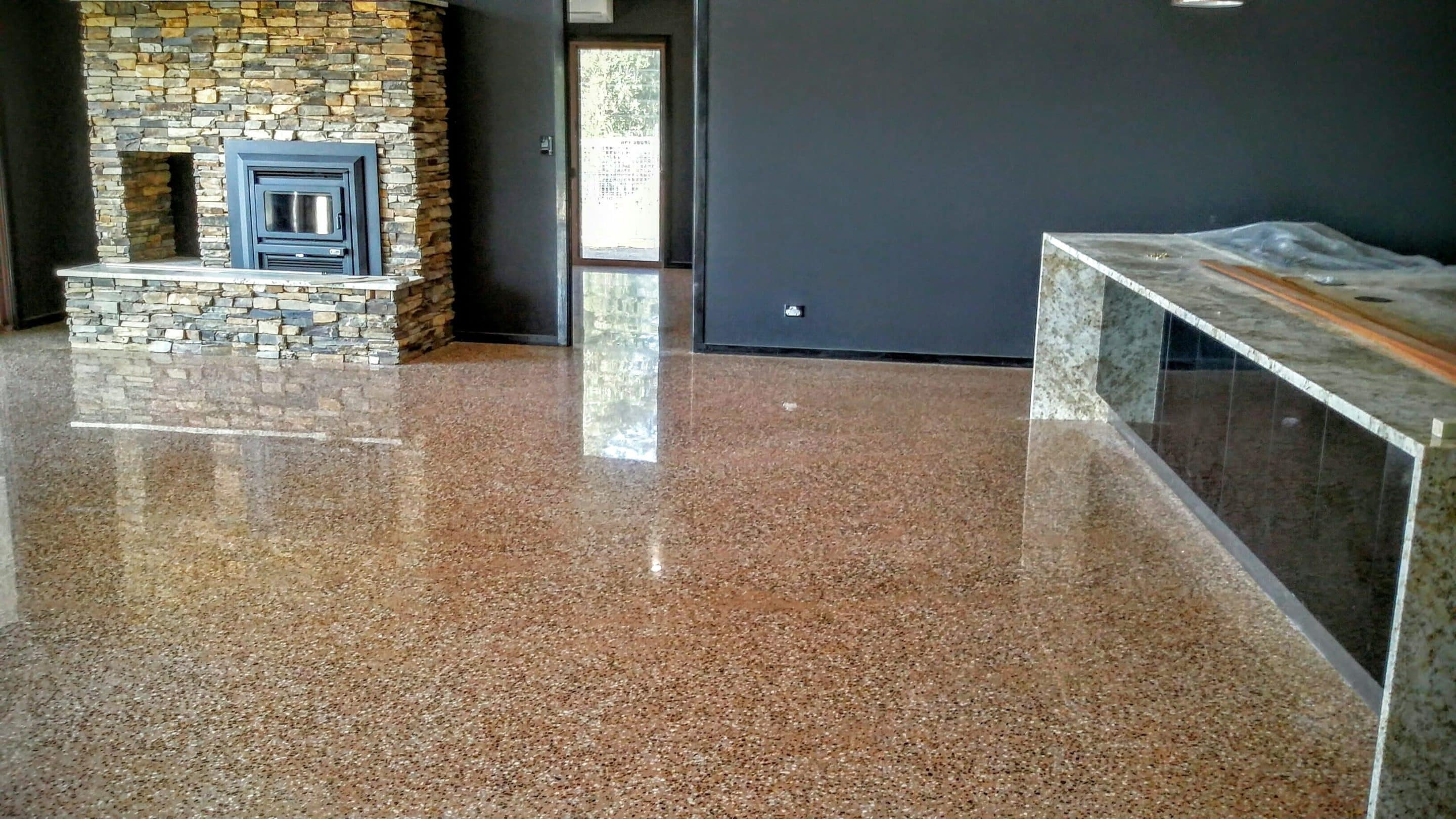 signature polishing residence concrete floor coast ideas polished floors private cost gold