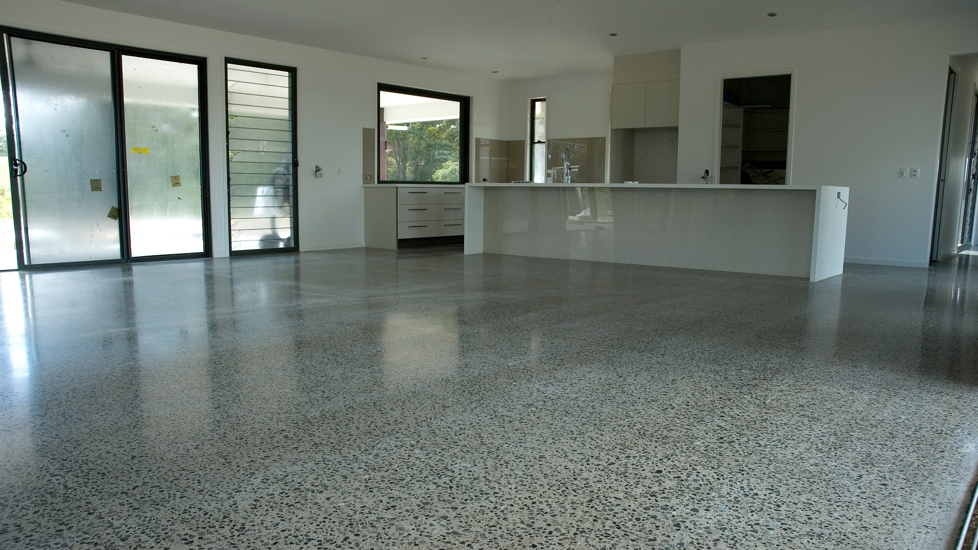 polished concrete floor swatch. Brilliant Swatch All Commercial Honed Residential HiPERFLOOR_Premium_Briscoe_Homes_ Intended Polished Concrete Floor Swatch