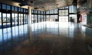 Hiperfloor Premium 800 grit polished concrete selected for Brisbane Isuzu truck showroom Burpengary Qld