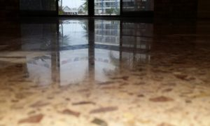 Full removal of 32 year old ceramic tile floor and plenty of know how to achieve this stunning HiPERFLOOR Premium installation is an outstanding result for this Bokarina client on the Sunshine Coast